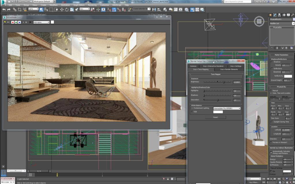 George Matos provides a user insight into Iray+ for 3ds Max